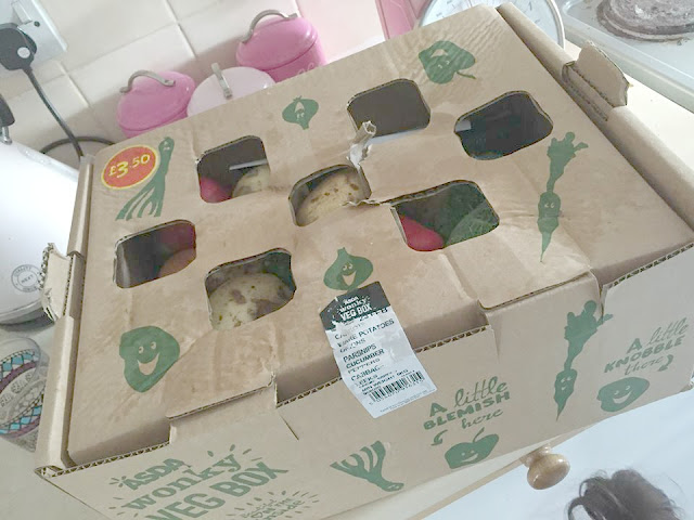 ASDA Wonky Veg Box Review
