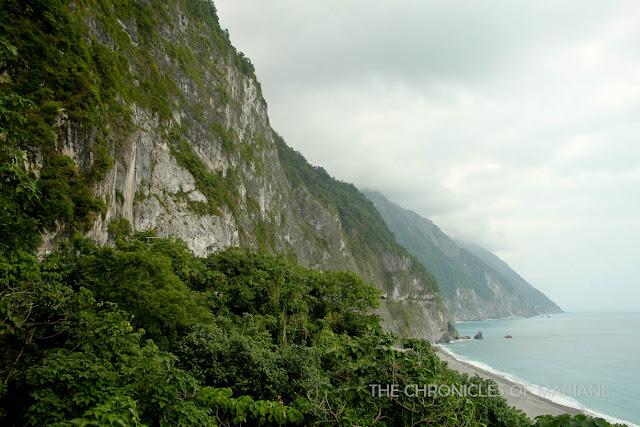taiwan cliff