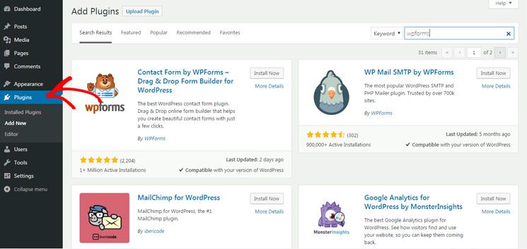 Fitur dan Fungsionalitas WordPress