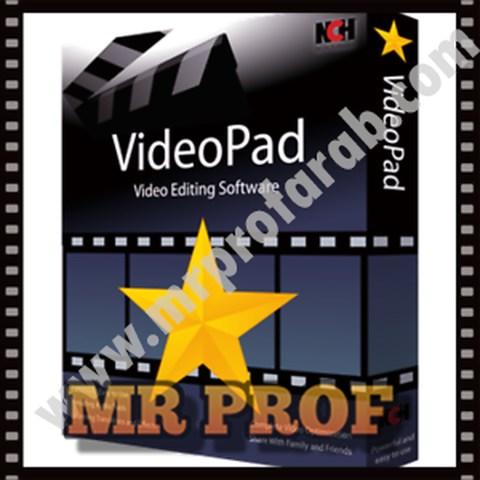 تحميل افضل برنامج تقليل حجم الفيديو NCH VideoPad Video Editor Professional اخر اصدار