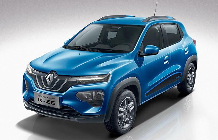 Renault la petite K-ZE électrique