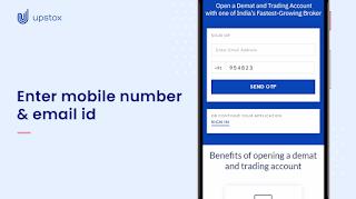 How to open upstox account online