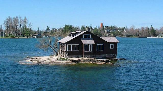 أصغر جزيرة مأهولة بالسكان جزيرة الغرفة الواحدة