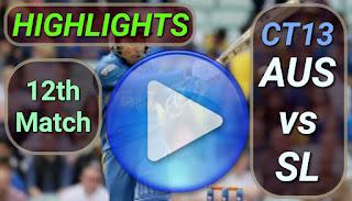 AUS vs SL 12th Match