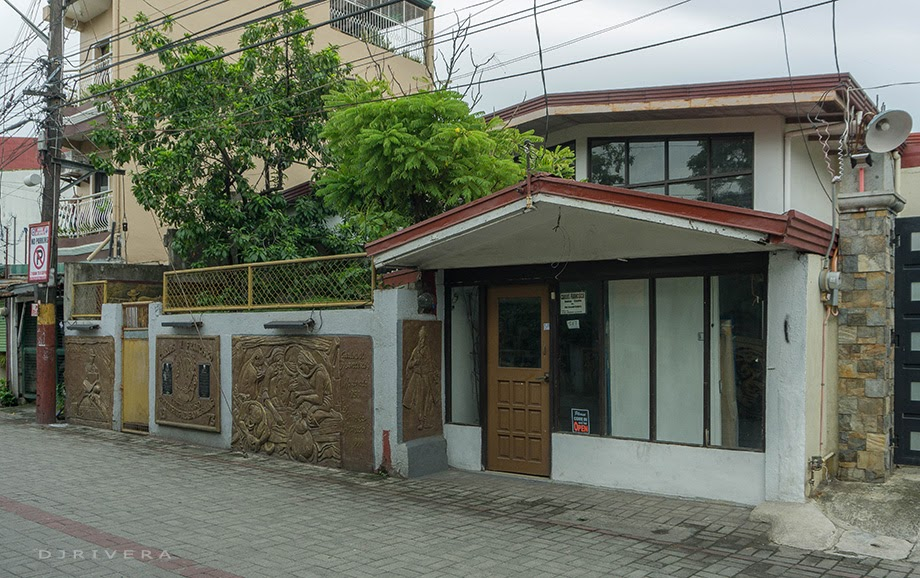 Botong Francisco's house in Angono