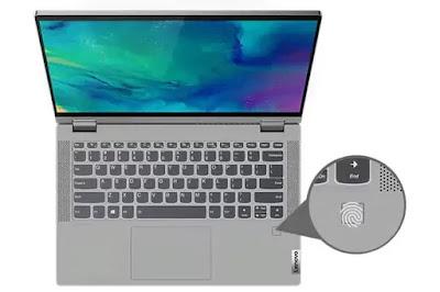 Fitur Fingerprint Lenovo IdeaPad Flex 5