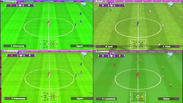 تحميل  لعبة PES 2020 PPSSPP للاندرويد GRASS LURUS 8 STADIUM باخر الانتقلات_برابط مباشر