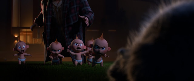Incredibles 2 Jack-Jack multiplies screencap