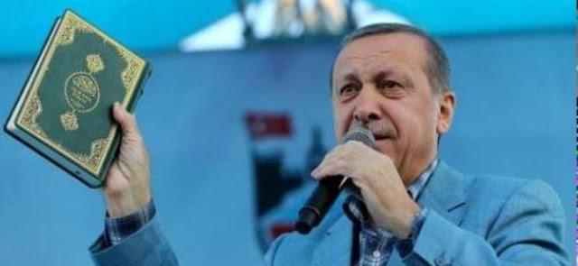 Telegraph: Ο Ερντογάν ρίχνει σπίρτο στο ξερό προσάναμμα του θρησκευτικού μίσους