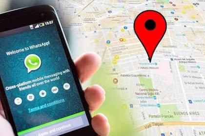 cara melacak lokasi orang menggunakan WhatsApp