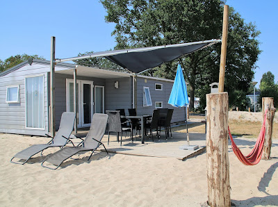 strandvakantie in Nederland in luxe strandchalet