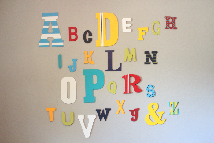 alphabet, DIY, montessori