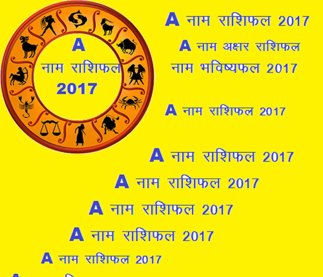 name horoscope 2017 in hindi,