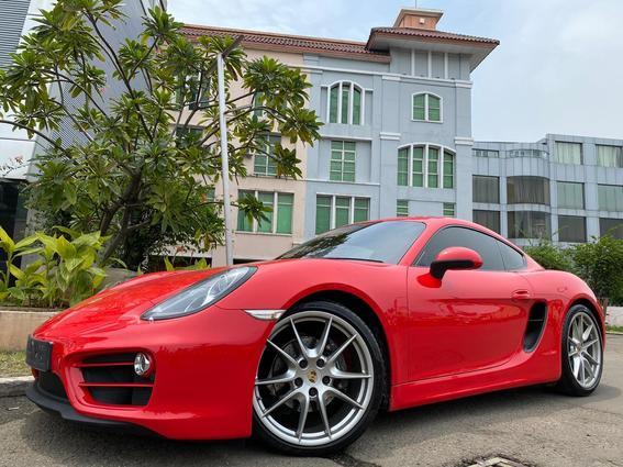 Porsche Cayman Merah - Pilihan Expert Seva Mobil Bekas