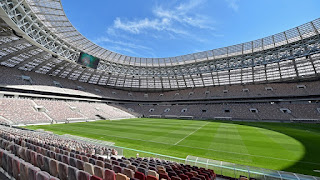 Pitches laid at Russia 2018 stadiums