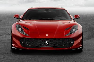 Ferrari 812 Superfast (2018) Front