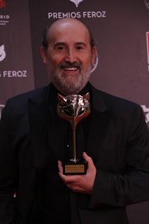 Javier Cámara en los Premios Feroz 2020
