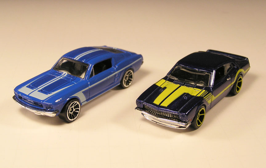 The Toy Museum Hot Wheels Muscle Cars