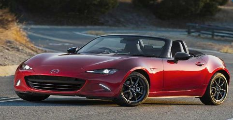 By which name is the Mazda Miata known in Australia?