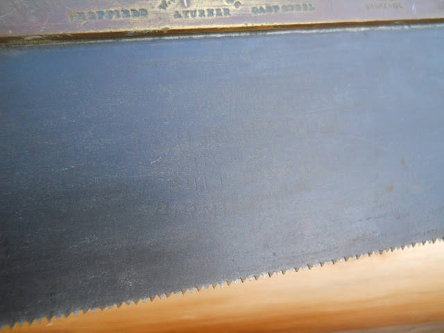 antique tenon saw