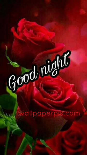 dark red  good night images wallpaper download