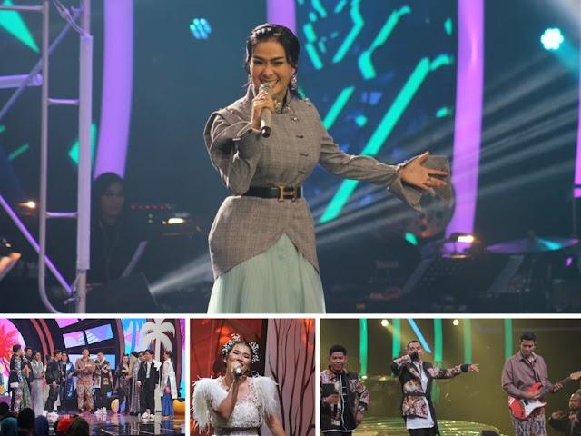 Iis Dahlia dan RAN Ramaikan Babak Semifinal The Voice Indonesia