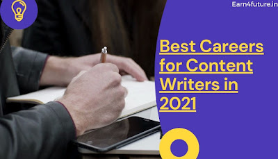 Best Careers for Content Writers in India
