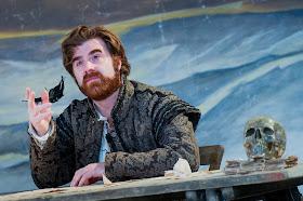 Stephen Aviss as Rodolfo in  La Boheme  at Opera Holland Park. Photographer  Robert Workman