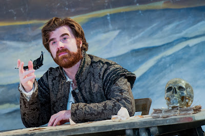 Stephen Aviss as Rodolfo in  La Boheme  at Opera Holland Park. Photographer  Robert Workman