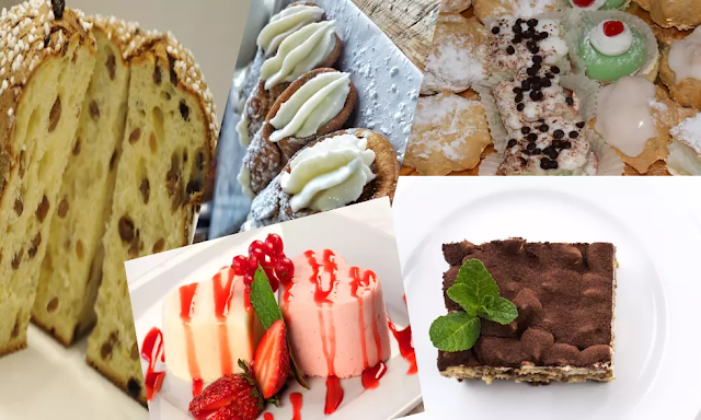 Top 5 of the best Italian desserts