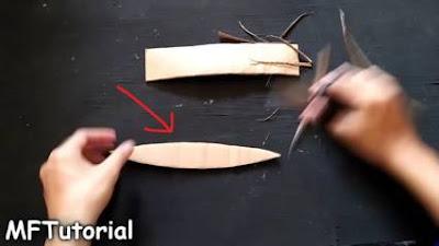 cara membuat kapal dari kardus susu