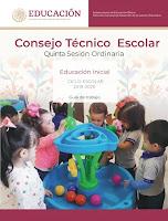 CTE - Quinta Sesión Ordinaria - Consejo Técnico Escolar 2019 - 2020 NEM