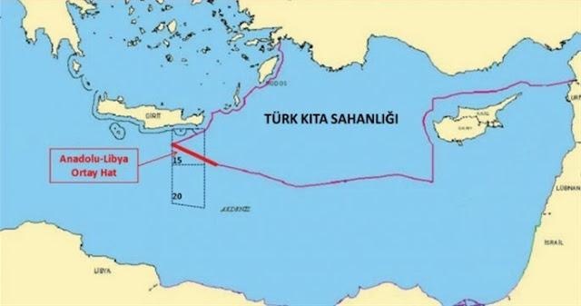 Γιενί Σαφάκ: Έρευνες νοτίως της Κρήτης προγραμματίζει η Τουρκία