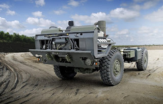 the Tatra chassis the Proforce Mrap was built upon