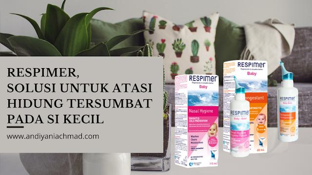 Respimer Baby Decongestant dan Baby Nasal Hygiene Spray Flu