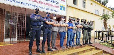 OPERAÇÃO CONVIVÊNCIA: Polícia, Guarda Municipal e Vigilância Sanitária fiscalizam Funcionamento de Estabelecimentos Comerciais em Garanhuns
