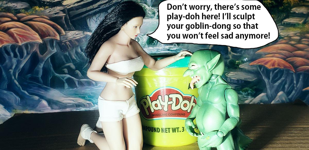 Topics tagged under goblin on OneSixthFigures 21-sad