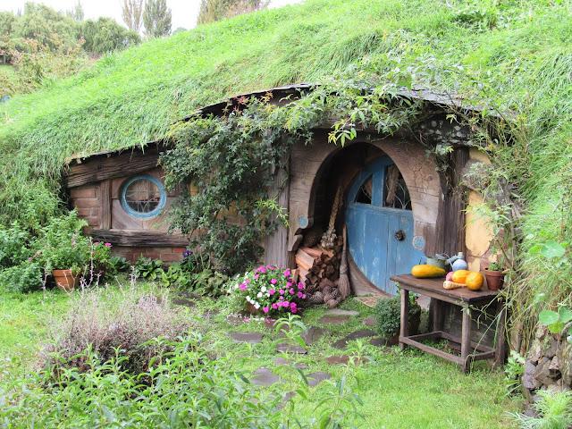 Casa Hobbit en Matamata