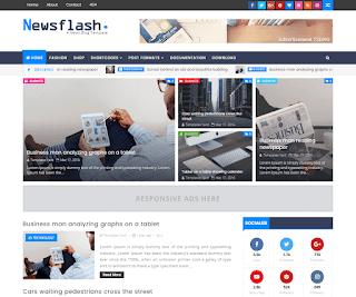 Newsflash Blogger Template