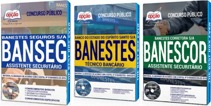 Apostila Concurso Banestes 2018 Técnico Bancário e Assistente Securitário.