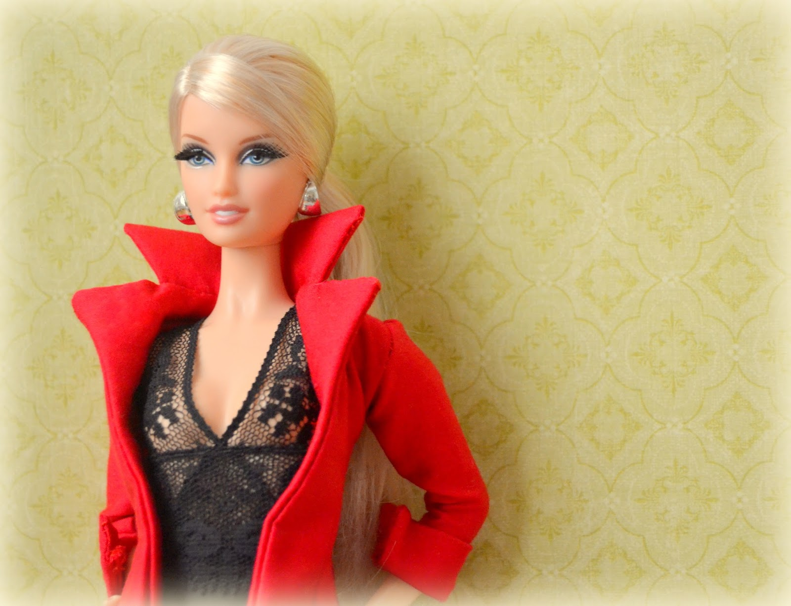 estilo de moda Cantidad limitada original de costura caliente Patron abrigo para barbie – Revista de moda popular