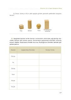6. Sınıf Türkçe Çalışma Kitabı Cevapları Eksen Sayfa 237