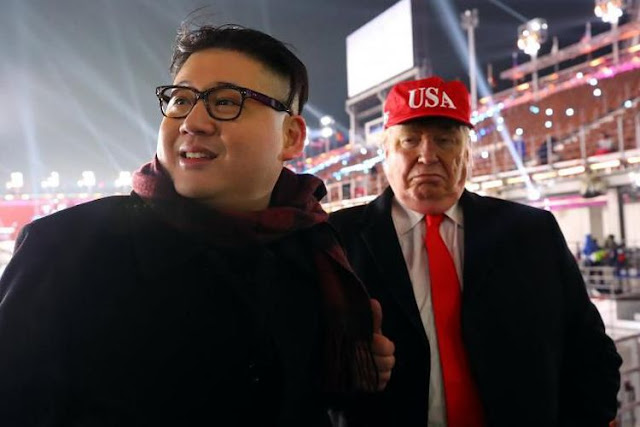 Pembukaan Olimpiade Musim Dingin di Pyeongchang, Trump dan Kim Jong Diusir