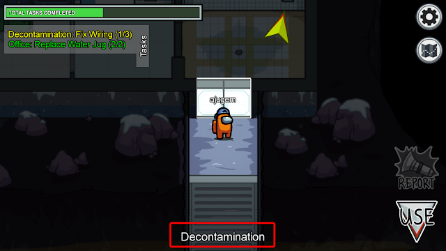 Decontaminationマップ名称説明画像