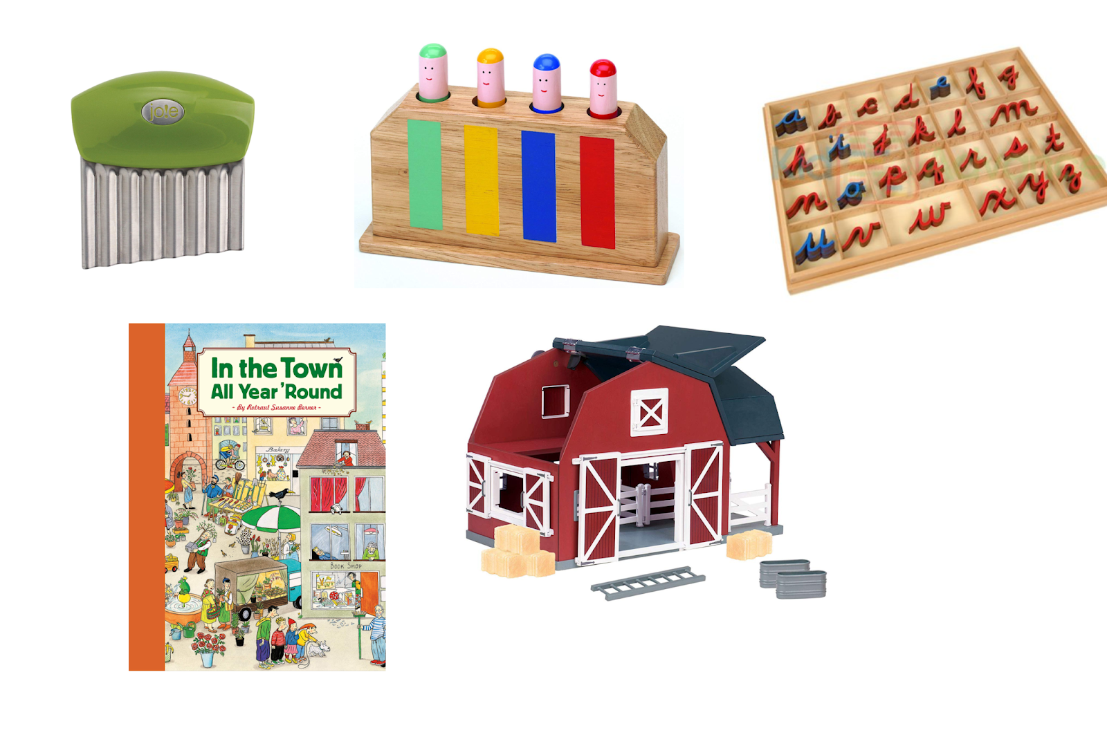 Top 5 Montessori gifts for children from birth to age 9 - gift ideas for every age and budget