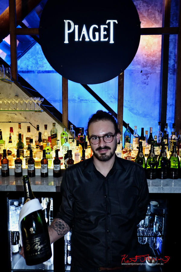 Pol Roger Magnums, Piaget Polo S Watch Launch - Beta Bar Sydney - Photographed by Kent Johnson for Street Fashion Sydney.