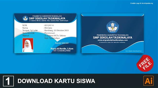 Free File : Download Kartu Siswa Coreldraw Dan Illustrator Gratis