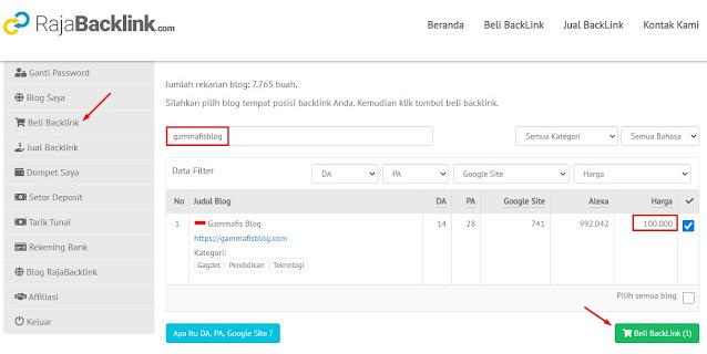 Cara Mendapatkan Backlink Blog Berkualitas dengan Harga Murah