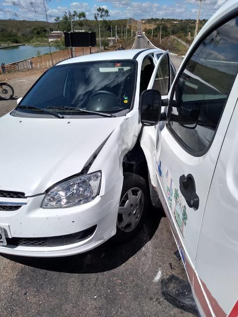 Acidente é registrado na cidade de Riacho da Cruz
