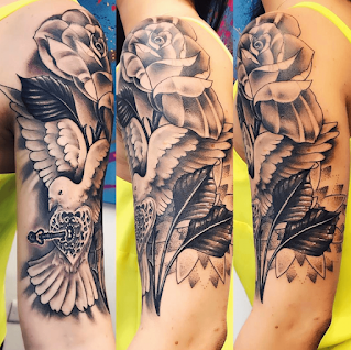 Fabulous Dove Tattoo Designs With Meanings, Ideas and Celebrities